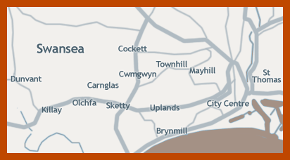 Map of Areas we Cover